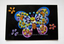Блестящая 3Д мозаика меганабор из 6 открыток и поштучно. Ранок