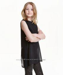 Шифоновая блуза H&M р. 170см