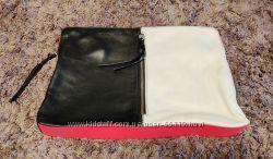 Кожаный клатч H&M