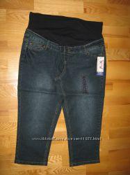 Летние джинсы-капри для беременных. Новые