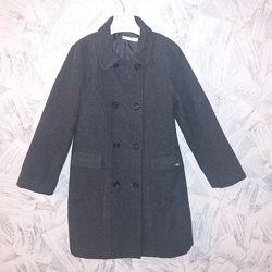 Классическое шерстяное пальто Petit Patapon, 11-12лет, рост 146-152см