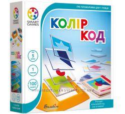 Колір код. Цветовой код. Smart games Колір код SG 090 UKR