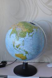 Рельефный глобус Альт с подсветкой. Италия технодидаттика