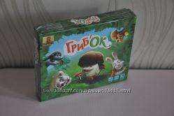 Грибок. Настольная игра для детей и их родителей
