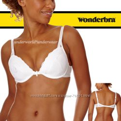 Оригинал бюст Wonderbra Push-Up & Plunge Multiway White Bra 75D
