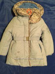 Зимнее пальто Babylne, 116 см, отличное состояние
