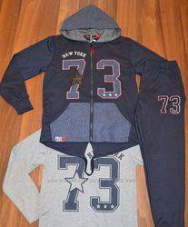 Спортивный костюмчик-тройка для ваших мальчишек р. 134 и 158 см