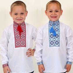 Вышиванки для мальчиков разные модели