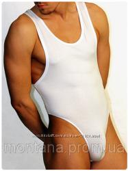 Мужское боди-стринги Doreanse 5003 черный белый