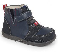 Кожаные Деми ботинки seekairun 24-25