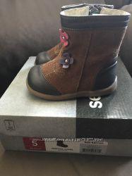 Замшевые Деми ботиночки seekairun 5 21 12, 5 см