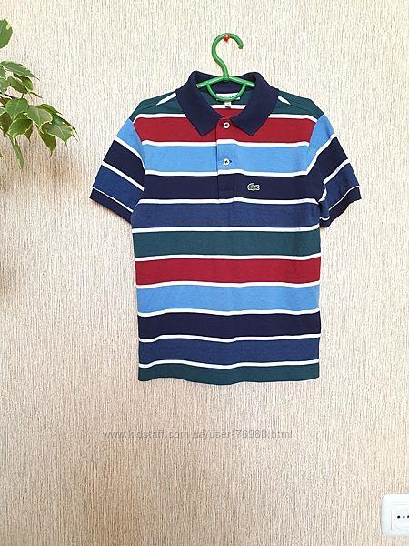 Стильная, качественная футболка, поло lacoste, оригинал