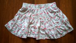 юбка с фламинго 5-6 лет H&M