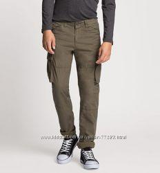 C&A Карго штаны защитного цвета р. 152