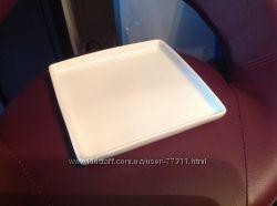 тарелки квадратные фарфоровые и др. посуда