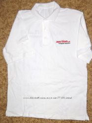 Тениска поло белого цвета Auction. ua