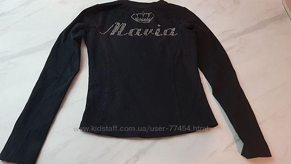Кофта для гимнастики джемпер на пальчик хлопковый Мария