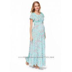 Длинные платья для беременных и кормящих мам - Скидка