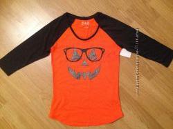 Новая стильная футболка на девочку р. 152