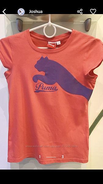 Детская футболка от бренда Puma р.146