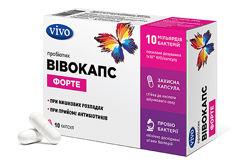 Восстанавливаем микрофлору кишечника пробиотиками ВИВОКАПС в капсулах -VIVO