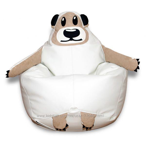 Кресло-груша Мишка бескаркасная мебель