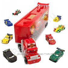 Дисней. Игровой подарочный набор Mack Die Cast Carrier Set