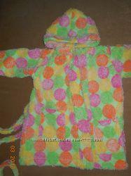 Яркий махровый халат Турция