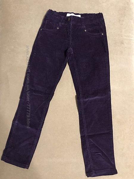 Стильные вельветовые штаны Brugi, Италия