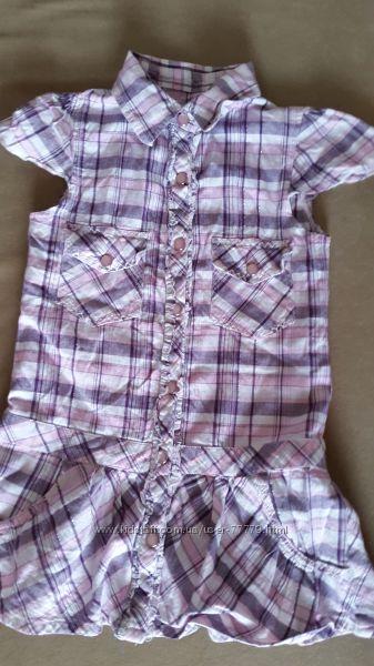 Стильная рубашка-туника