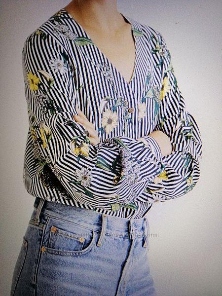 блуза-рубашка Mango