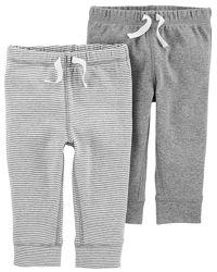 Комплекты трикотажных штанишек от 3 мес до 2 лет.