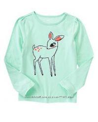 Туники, футболки, регланы GAP, OshKosh, Crazy8 и др. для девочек 8-14 лет.