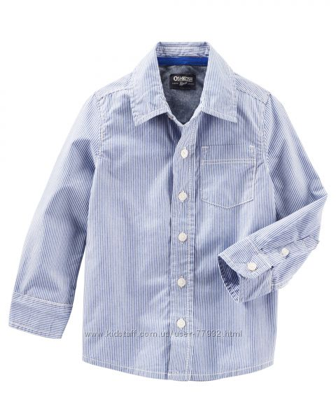 Рубашки американских бренов Carters, OshKosh, OldNavy, Crazy8.