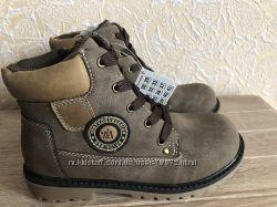 Качественные демисезонные ботинки B&G унисекс