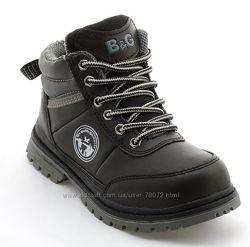 Распродажа демисезонных ботиночек на мальчиков B&G. Много моделей