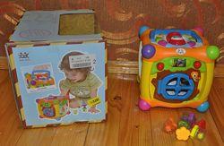 розвиваючий куб Huile toys, як новий