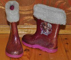 резинові чобітки з блискітками, Ельза, 16 см