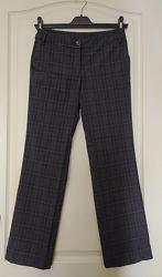 Широкие прямые брюки OSTIN в клетку, р-р 26, XS - 34 европ.