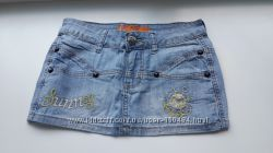 Юбка джинсовая mini