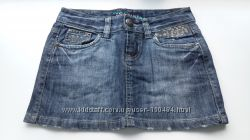 Юбка mini джинсовая