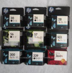 Картриджи Hewlett Packard HP21 HP22 HP45 HP56 HP57 HP80 HP88 HP711