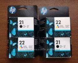 Картридж HP21 HP22 оригинал для принтеров DeskJet, OfficeJet, PCS