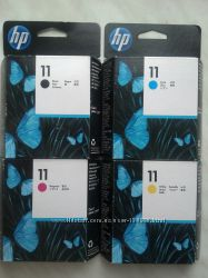 Печатающие головки HP  11 C4810A, C4811A, C4812A, C4813A