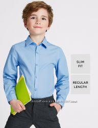 рубашки Marks&Spencer школа 134 140 146  на 8-9 и 9-10 и 10-11 лет