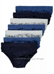 Набор трусиков Англия 10 шт 7 шт синие белые черные