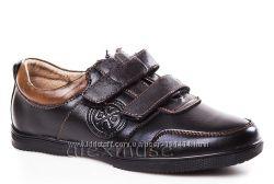 Школьные кожаные туфли KANGFU, код 429