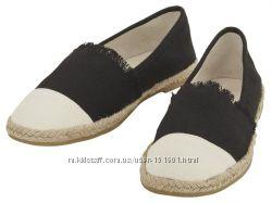 Расспродажа  стильные женские эспадрильи от Esmara цвет на выбор
