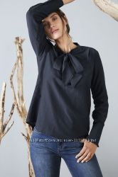 Шелковая блузка с лентами ТСМ германия  р 44, 46, 48 евро48-56наши
