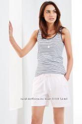 РасспродажаТрикотажные белые шорты tchibo германия р. 3642-44 404246-48
